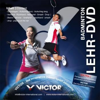 VICTOR Badminton Lehr-DVD (Deutsch)