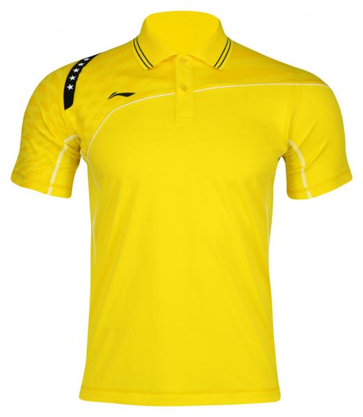 Li-Ning Polo Men Team 14 Yellow