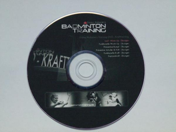 Diemo Ruhnows Badmintontraining DVD - Krafttraining